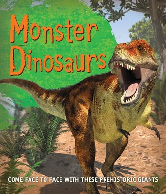 Book cover for Fast Facts! Monster Dinosaurs